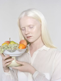Petrina Hicks, Lauren with Fruit, 2011