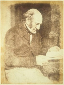 Robert Liston, photographed ca 184 by David Octavius Hill and Robert Adamson.