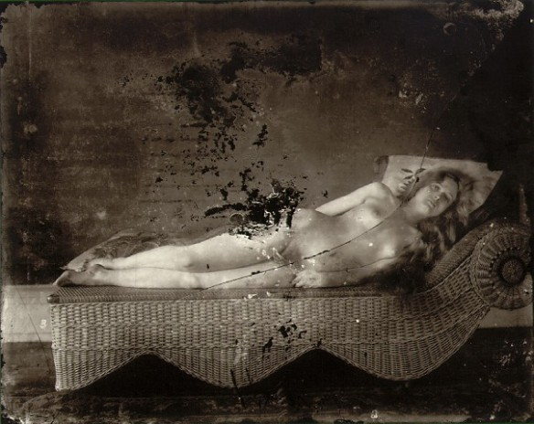 E.J. Bellocq's photograph of Storyville prostitute