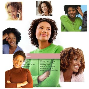 Hot curly haired black women go moist for wireless broadband routers and mainframes