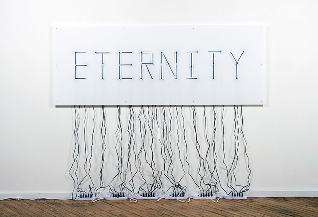 Eternity clocks by Alicia Eggert and Mike Fleming.
