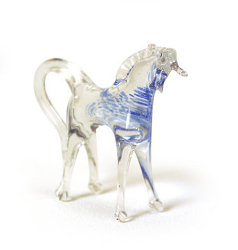 Museum of Broken Relationships glass horse