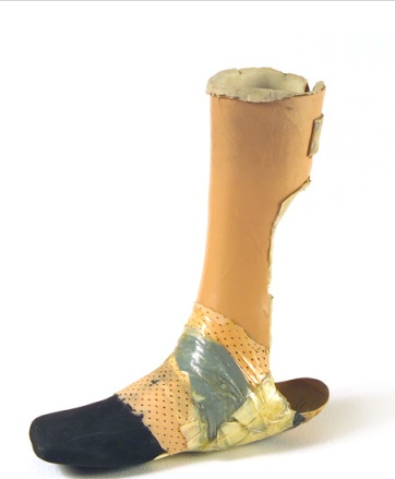Museum of Broken Relationships prosthetic limb 1992
