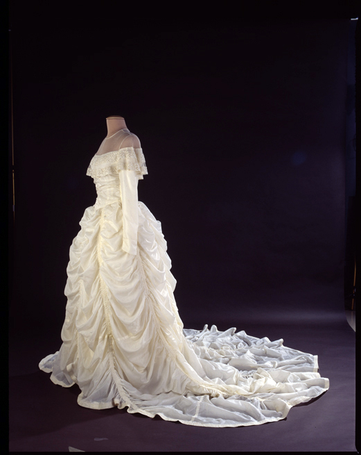 Wwii Wedding Dress Made From a