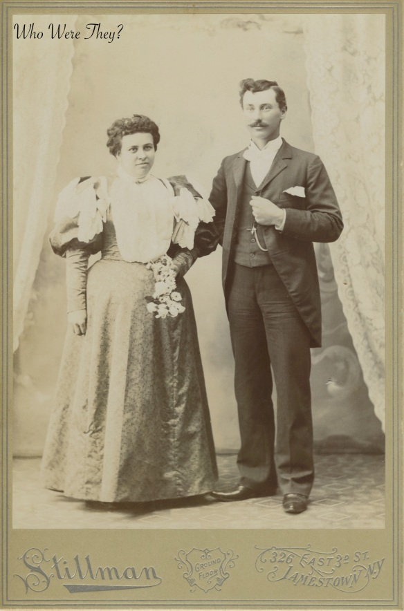 Mrs Marvel: Vintage photograph of couple.