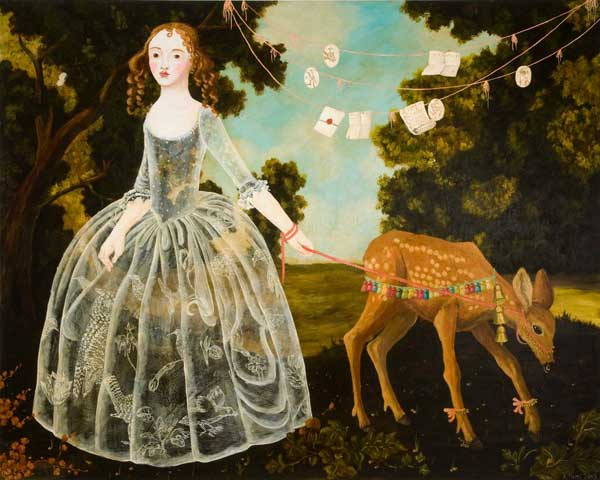 Anne Siems, 'Girl and Fawn', 2009.