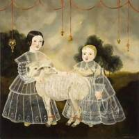 Strange and lovely, Part Two: Transparent bodies in the paintings of Anne Siems
