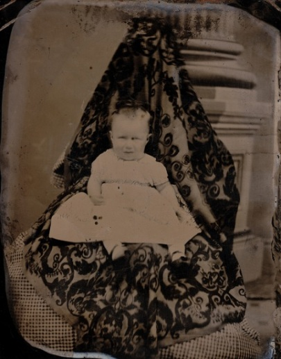 Hidden mother in unsettling Victorian photograph c1865