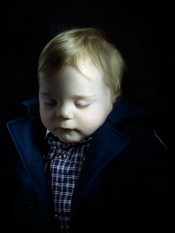 Anuschka Blommers and Niels Schumm kidswear that looks like post mortem photography.